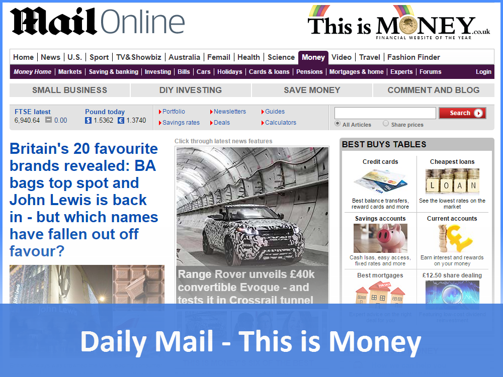 Daily Mail - This is Money