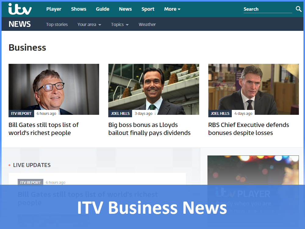 ITV News - Business