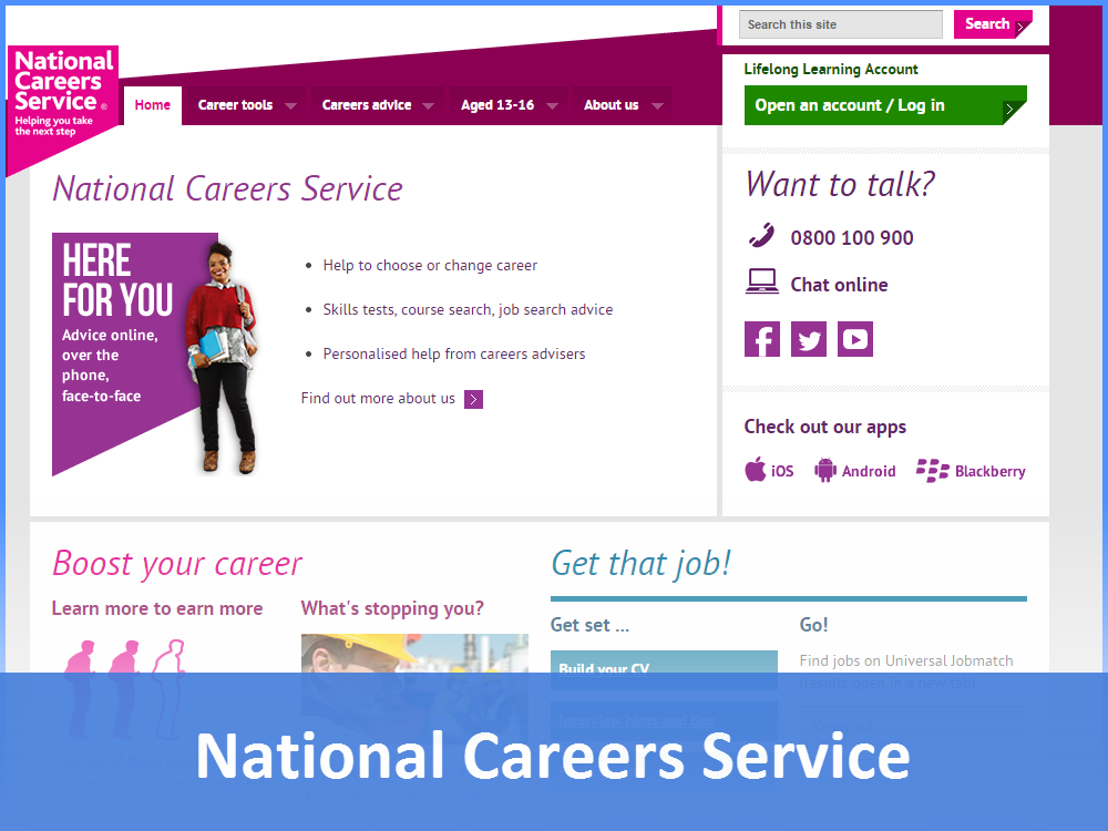 National Careers Website