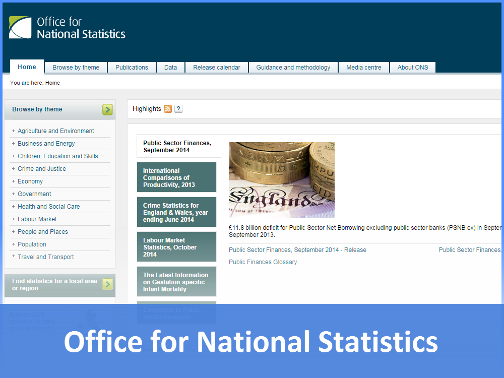Links - Office for national statistics ...