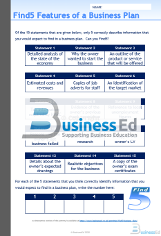 Find5 Business Plan