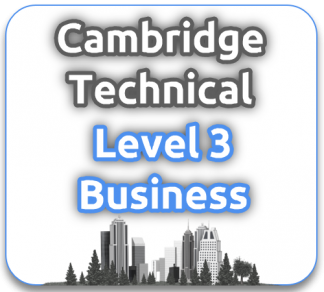 Cambridge Technical Level 3 in Business
