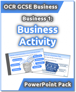 OCR GCSE 1.1 Business Activity