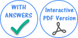 Answer and Interactive PDF Button